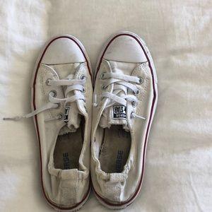 Shoes - White converse